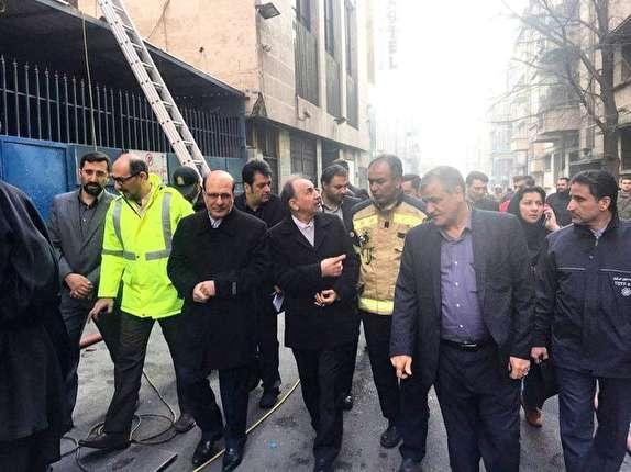 احتمال ریزش ساختمان وزارت نیرو وجود دارد/ 3 بار به ساختمان هشدار داده شده بود