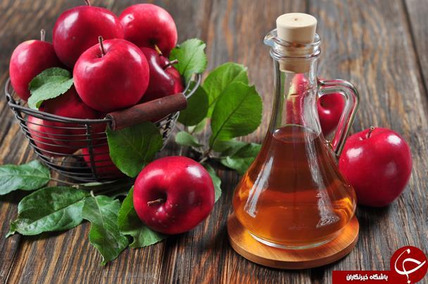 خواص سرکه سیب برای بدن