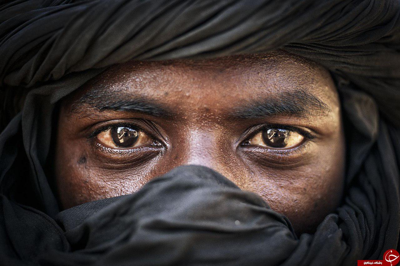 مرد طوارقی در عکس روز نشنال جئوگرافیک +عکس