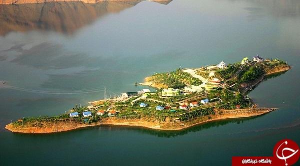 نمایی زیبا از جزیره کوشک + عکس ها