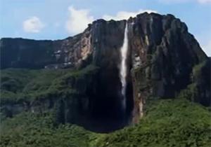 با بزرگترین آبشار جهان آشنا شوید/ آبشاری 20 برابر بزرگتر از نیاگارا + فیلم