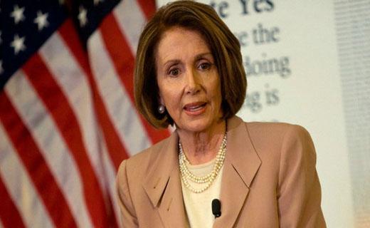 سخنرانی عجیب ۷ ساعته رییس اقلیت مجلس نمایندگان آمریکا