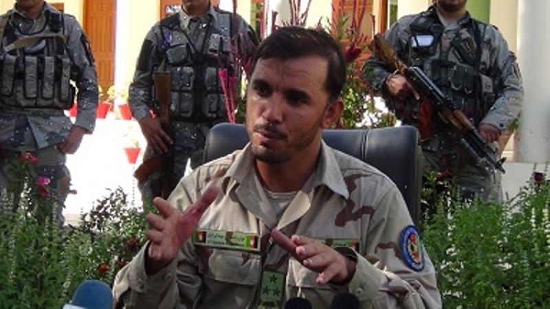 ترور ناکام فرمانده پلیس قندهار + تصاویر