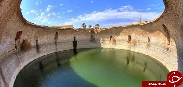 وجود آبانبار 300 ساله در استان فارس + تصاویر