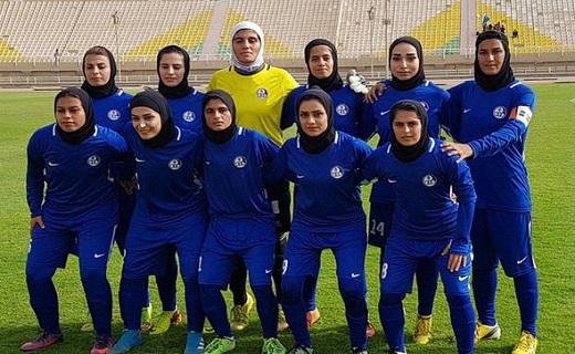 باشگاه خبرنگاران -پیروزی تیم فوتبال بانوان استقلال خوزستان