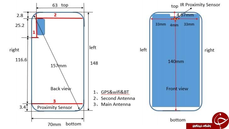 گوشی P20 Lite هواوی با طراحی