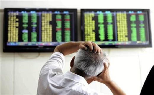 سقوط شاخص سهام دائوجونز آمریکا