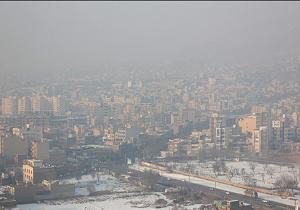 هوای پایتخت با شاخص 108 برای گروه های حساس ناسالم است