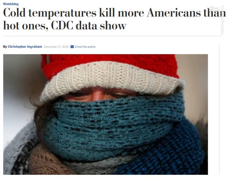 زمستانهای مرگبار در آمریکا و انگلیس؛ آمارخیره کننده تلفات بر اثر سرمای شدید در آمریکا + تصاویر و آمار