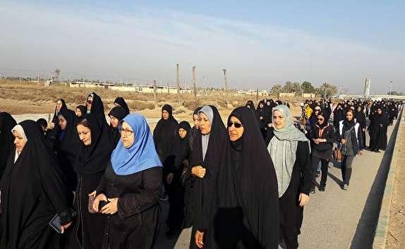باشگاه خبرنگاران -پیاده روی در اروندکنار ومینوشهر