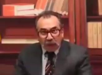 شباهت عجیب سیامک انصاری با حسینی، مجری دلقک ضد انقلاب +فیلم