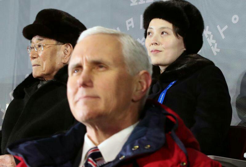 معاون ترامپ با خواهر رهبر کره شمالی دست نداد+تصاویر