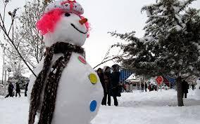 برگزاری جشنواره کشوری آدم برفی و تندیسهای یخی در سرعین