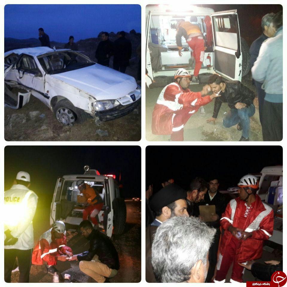 دومین حادثه رانندگی در کرمانشاه 5کشته و زخمی داشت