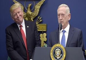 پاسخ منفی وزیر دفاع آمریکا به ترامپ برای بررسی گزینههای نظامی علیه ایران