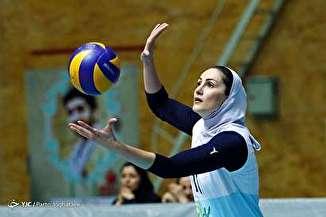 دیدار والیبال بانوان آبنوس و سالوت تهران