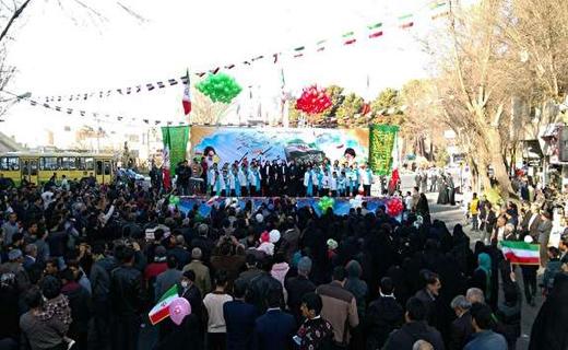 خروش انقلابی مردم در سراسر ایران