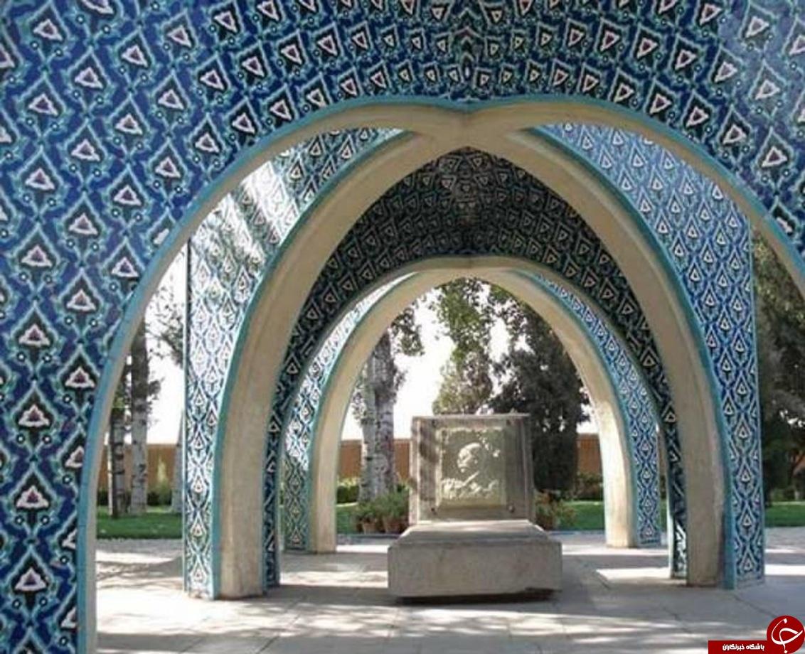 آرامگاه برترین نقاش معاصر ایران +تصاویر