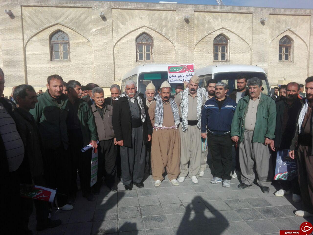 حضور عشایر کرمانشاه در راهپیمایی یوم الله 22 بهمن ماه