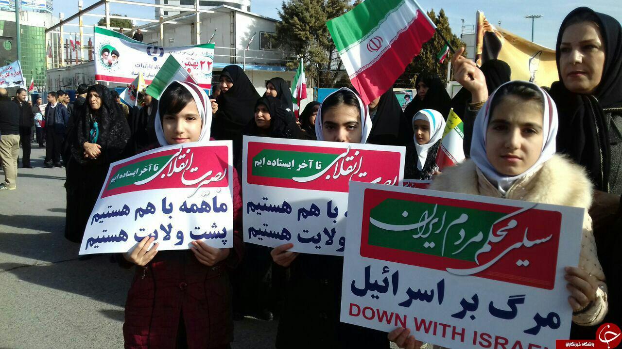 حضور کرمانشاهیان در راهپیمایی یوم الله 22 بهمن ماه +تصاویر