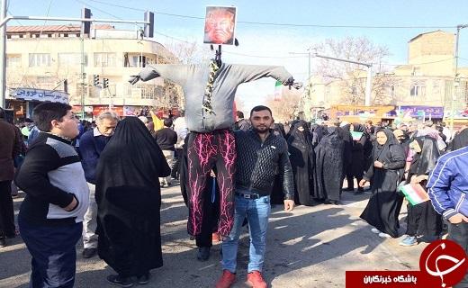 آغاز راهپیمایی ۲۲ بهمن