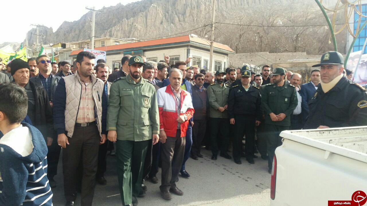 حضور مردم کرمانشاه  در راهپیمایی یوم الله 22 بهمن ماه+تصاویر
