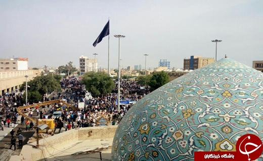 آغاز راهپیمایی یوم الله 22 بهمن  در آبادان وخرمشهر