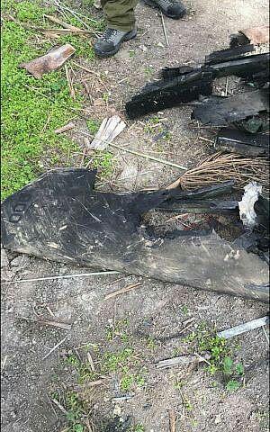 ارتش رژیم صهیونیستی تصویر لاشه پهپاد منتسب به ایران را منتشر کرد