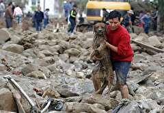 باشگاه خبرنگاران -تصاویر هفته: از واژگونی مرسدس بنز در قبرستان استرالیا تا کج شدن ساختمانی در تایوان بر اثر زلزله