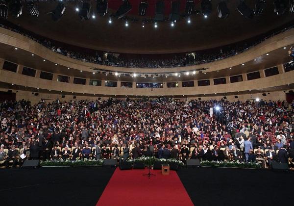 مراسم اختتامیه جشنواره فیلم فجر آغاز شد