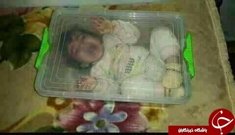 اقدام عجیب یک مادر برای پایان دادن به گریههای دختر خردسالش+عکس