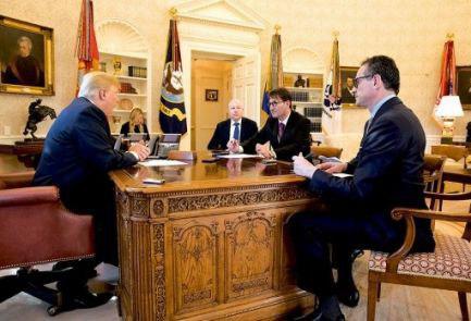 ترامپ: برای فاجعه است