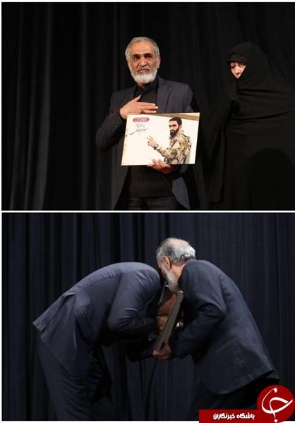 شهیدی که حاتمیکیا در جشنواره فیلم فجر از خانواده او تقدیر کرد، کیست؟+تصاویر