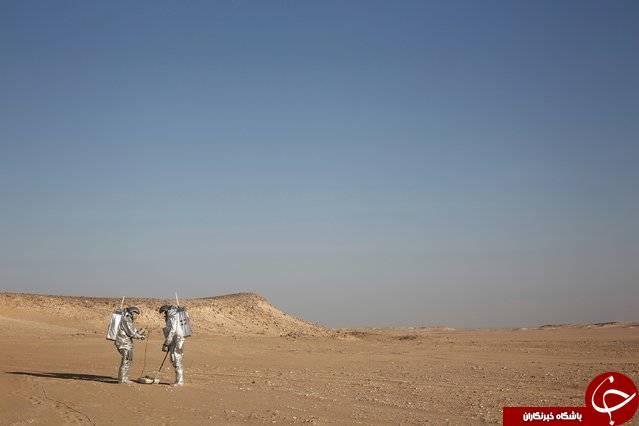 شبیهسازی محیطی مانند سیاره مریخ+تصاویر
