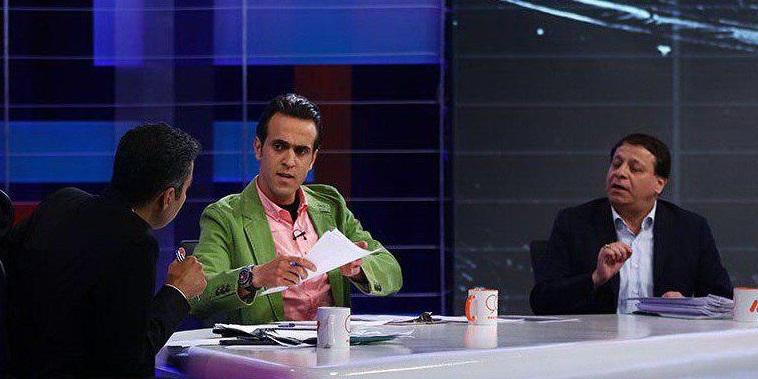 مناظره علی کریمی و محمدرضا ساکت در برنامه نود