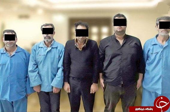دستگیری عاملان آدم ربایی یک میلیارد تومانی+عکس