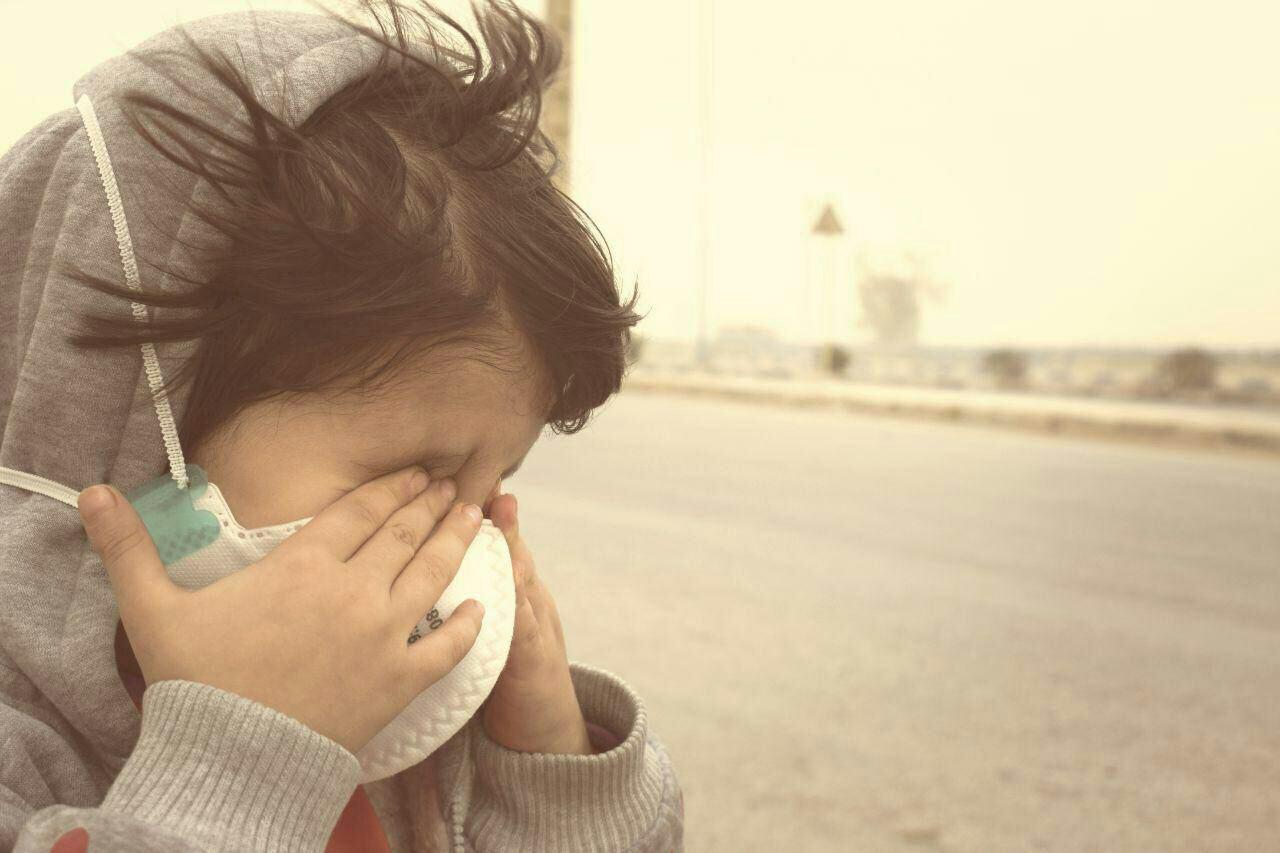 خاک فرودگاه بینالمللی اهواز را تعطیل کرد/ کاهش شعاع دید