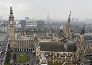 حادثه در محوطه ساختمان پارلمان انگلیس