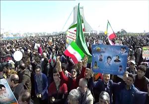 نظر مردم درباره راهپیمایی ۲۲ بهمن ۹۶ + فیلم