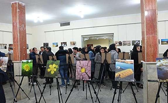 افتتاح نمایشگاه