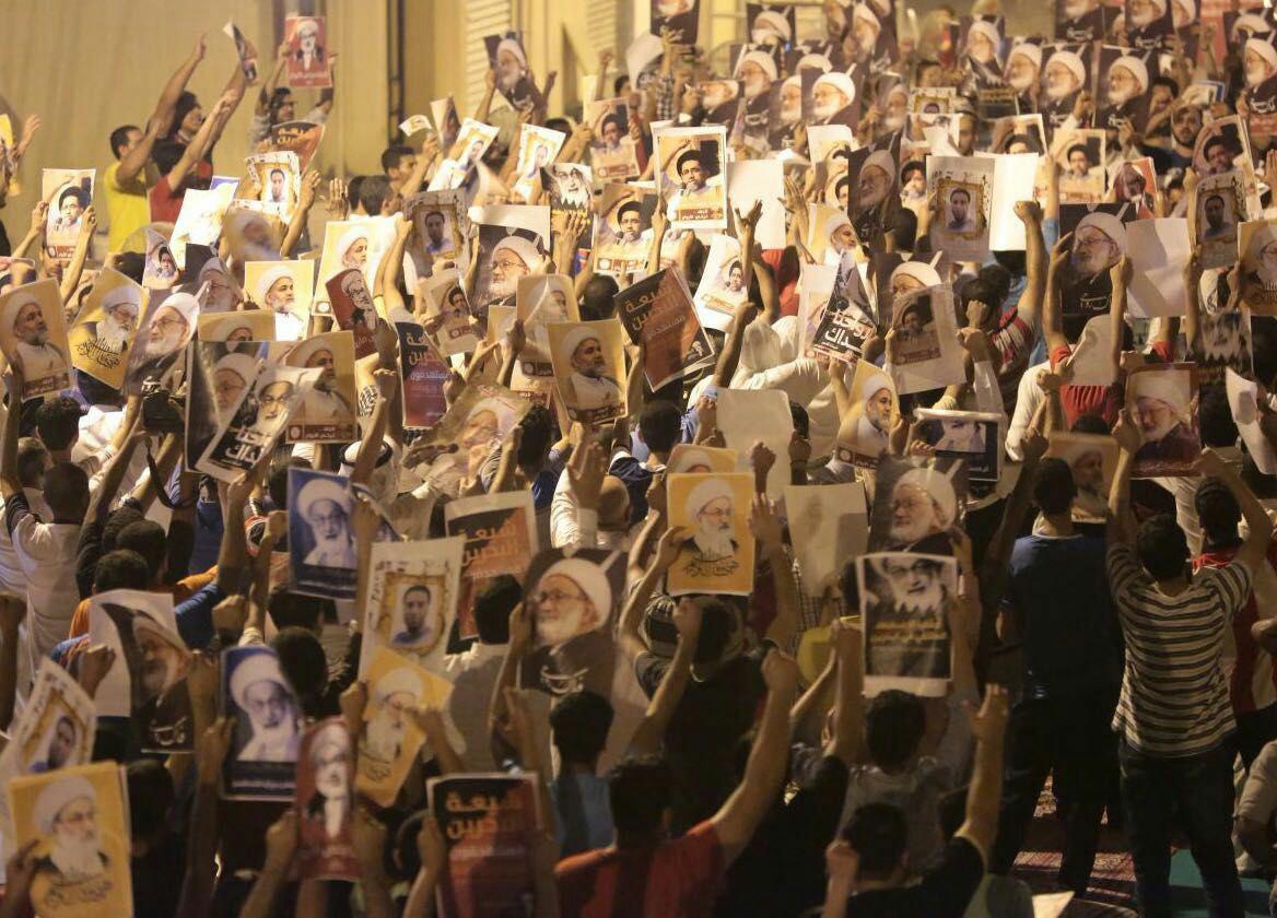 تداوم راهپیماییهای شبانه در بحرین