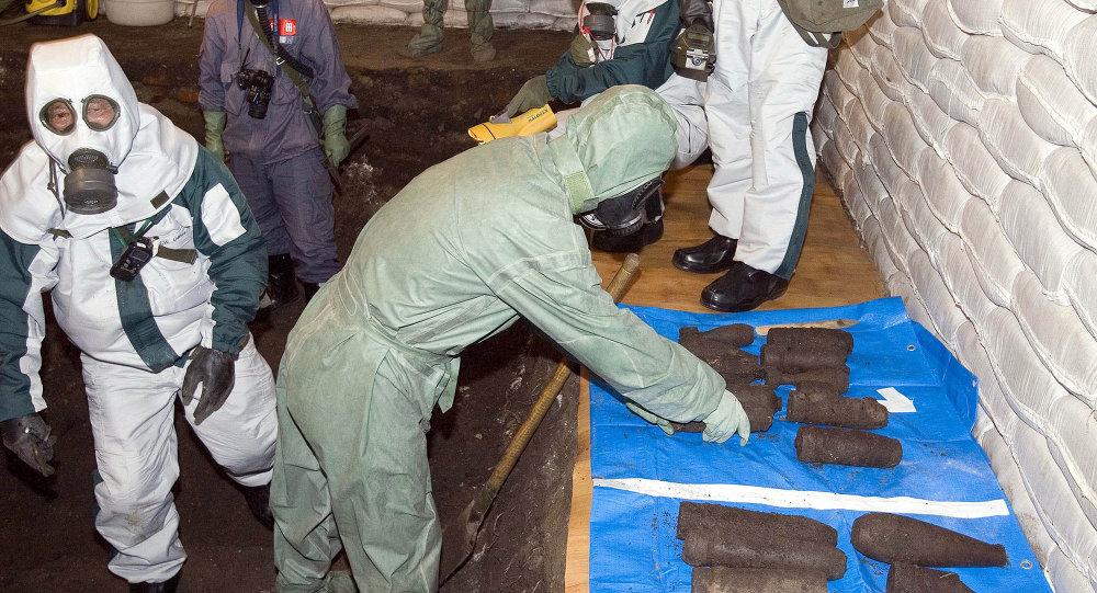 مکرون: فرانسه سندی دال بر استفاده از سلاح شیمیایی در سوریه در اختیار ندارد