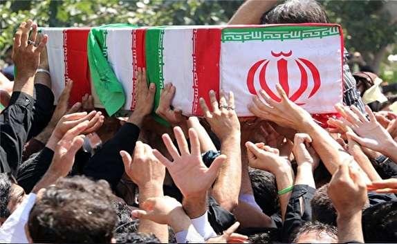 باشگاه خبرنگاران -تشییع 8 شهید گمنام در خراسان شمالی