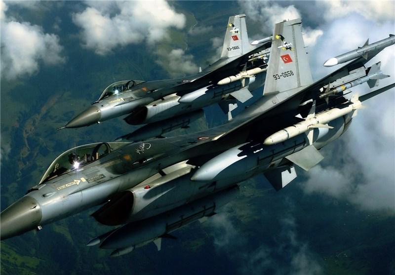 حملات موشکی جنگندههای ترکیه به مناطق مسکونی در عفرین
