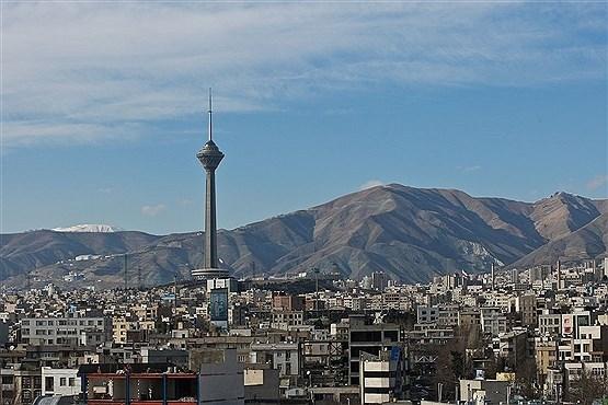 بارش باران بعد از مدتها هوای تهران را پاک کرد