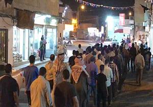 دور دوم اعتراضات مردم بحرین در جزیره ستره + فیلم