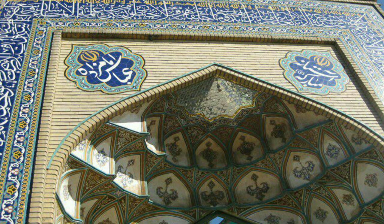 آستان مطهر امامزاده عباس (ع) معطر به حضور شهدای گمنام
