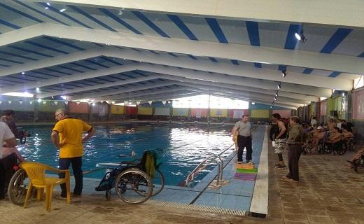 باشگاه خبرنگاران -برگزاری مسابقات لیگ شنای جانبازان و معلولین کشور در خرمشهر