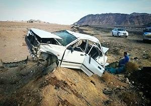 سه کشته و چهار مصدوم در تصادف محور قم_کاشان
