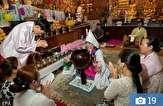 باشگاه خبرنگاران -عجیب ترین مراسم جن گیری که در کره جنوبی انجام می شود! تصاویر